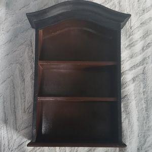 Cute charming wooden mini shelf 3 shelves